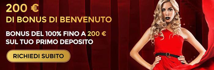 unique casino bonus benvenuto