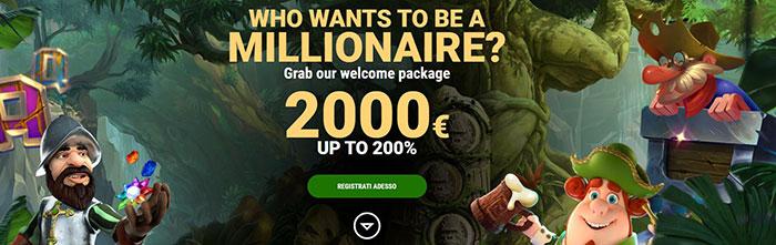 million vegas bonus casino