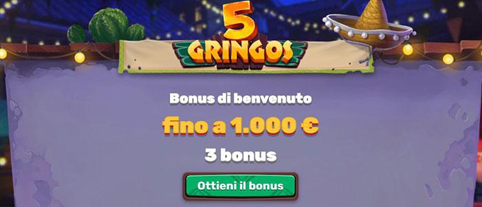 5gringos bonus casino