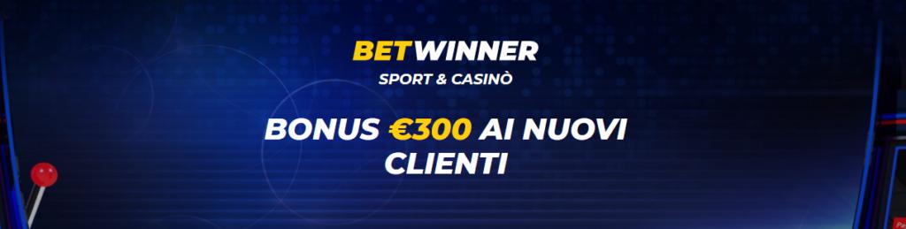 bonus casino betwinner