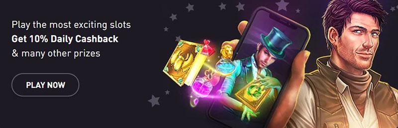 rocketpot slot bonus crypto